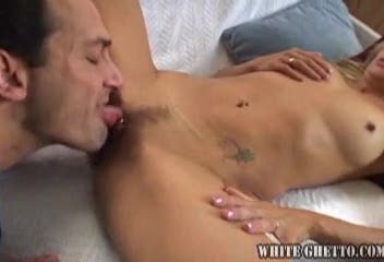 Eating the milf pussy before doggy style