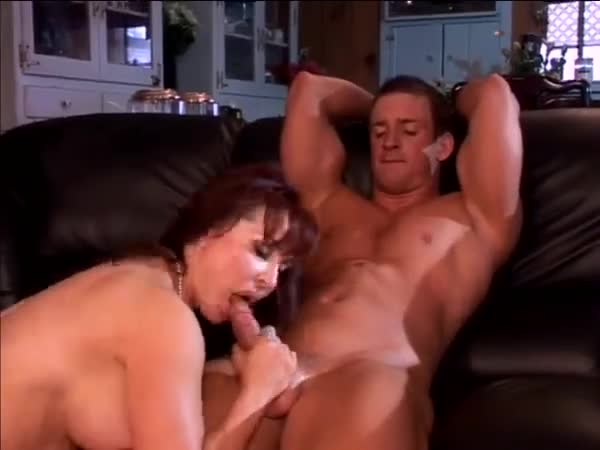 Hot mom with fake tits hardcore fucking