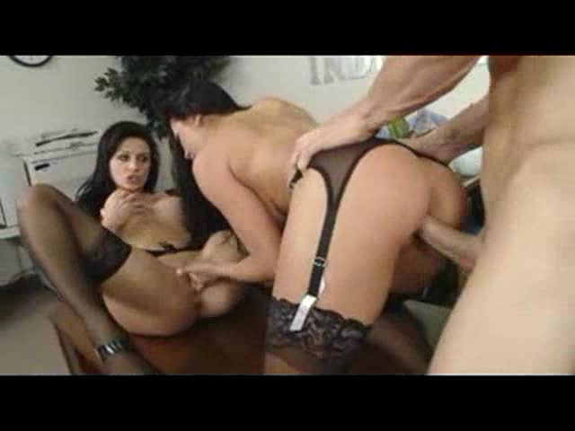 Audrey Bitoni and Aletta Ocean threesome