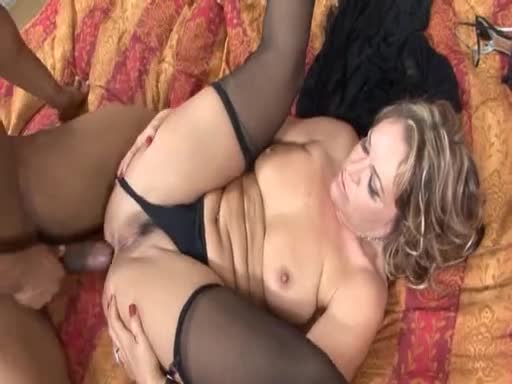 Curly hairy big ass girl and anal black sex