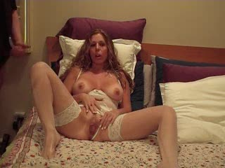 Hot wife films herself masturbating and sucking