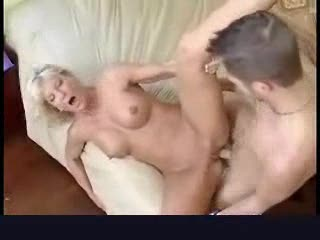 Tasty mature blonde wants a younger man