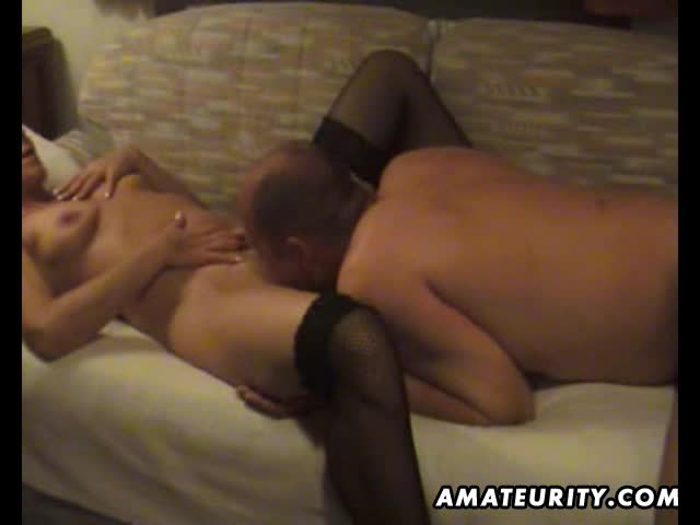 Mature amateur wife homemade blowjob and fuck with cumshot