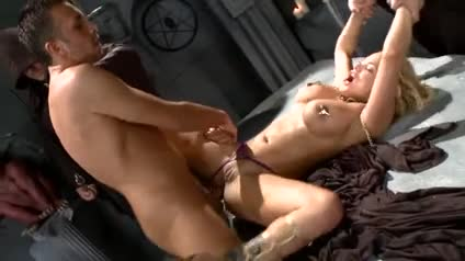Shyla Stylez anal sex in the dungeon