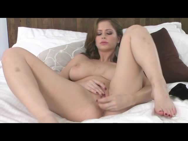 Emily Addison has her favorite toy