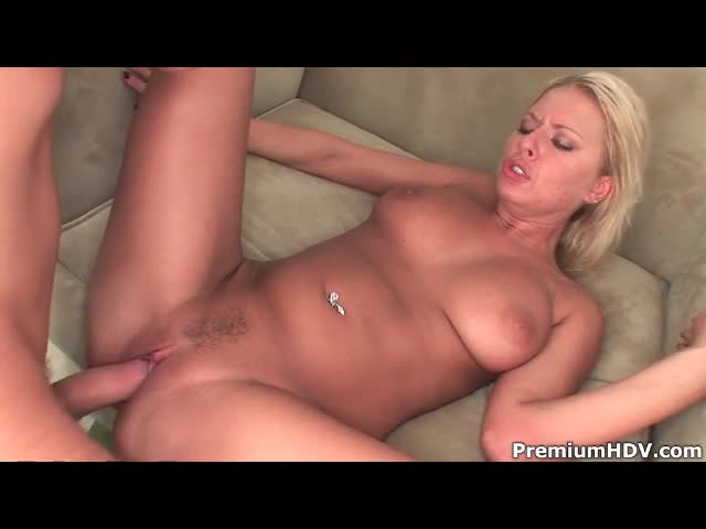 Slut with amazing natural tits nailed