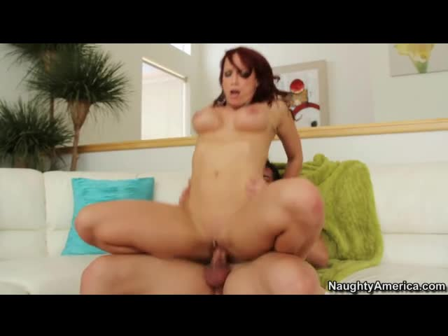 Redhead Nicki Hunter hot hardcore sex
