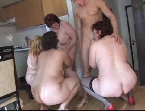 Group fuck with Euro BBWs and young men