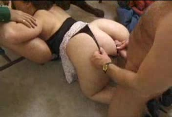BBW lets him fuck her wet asshole