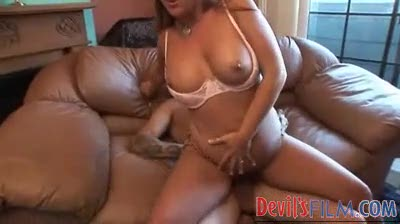 Girl with a big ass rides dick