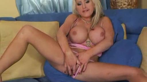 Enormous tits on blonde that loves anal