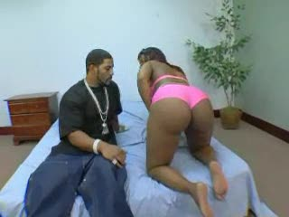 Black chick with monster ass fucked