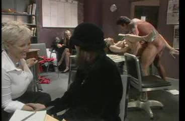 Office fuck for the big tits hot girl