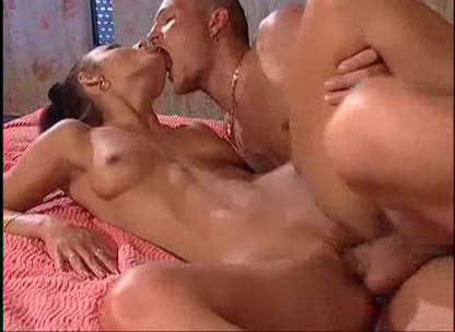 Slutty and hot European fucked by two guys