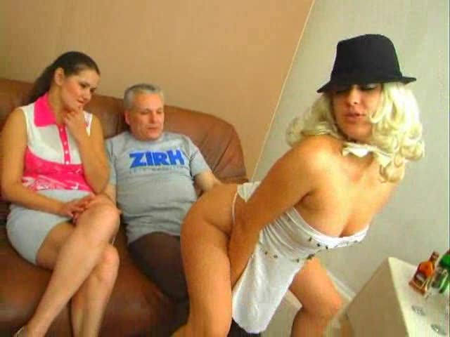 Sexy Russian sluts and his big cock