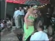 Sexy dancing Arab girl