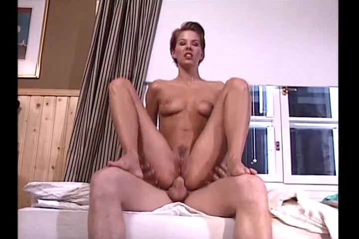 She gets fat cock in her Euro ass
