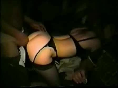Black guys fucking a wife at an adult theater