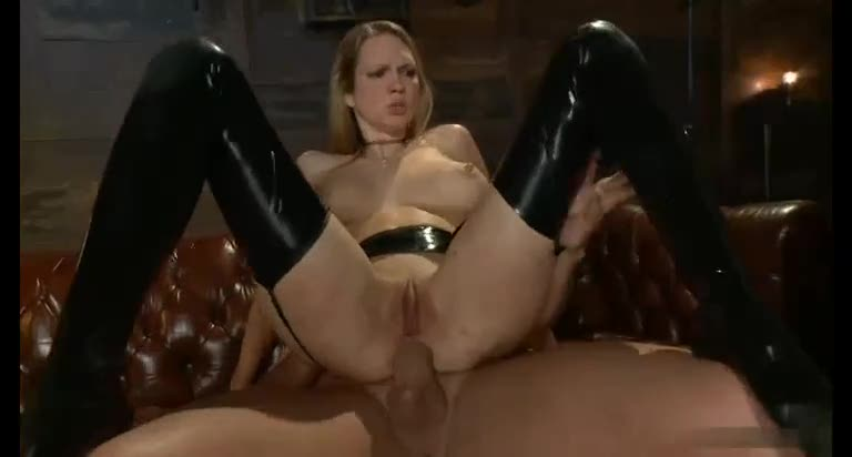 Long BDSM session with sex slave