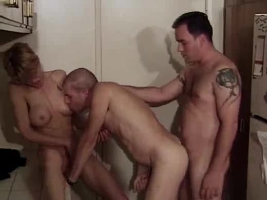 Bisexual fuck with husband, wife, and friend